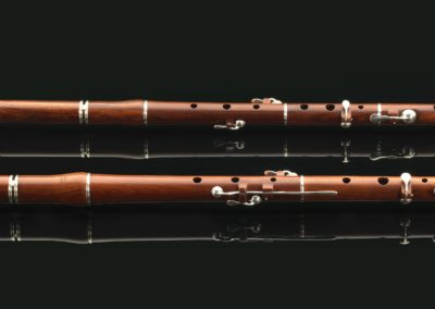 Bb and D flute Mopane Black Soeln Lesouef