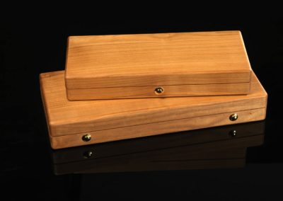 Cherry Wood Irish flute Cases Solen Lesouef